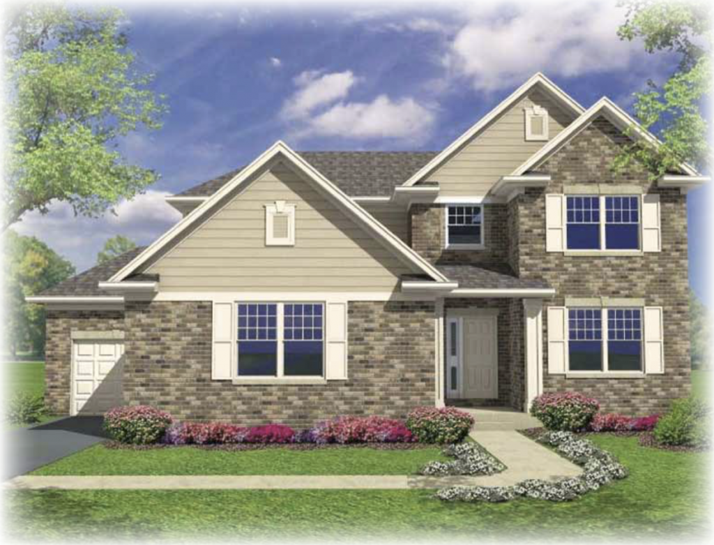 River Crossing Breckenridge Model Basic New Homes